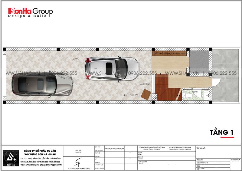 Mãn nhãn mẫu thiết kế nội thất nhà phố hiện đại 4 tầng 4x17m tại Hải Phòng 23