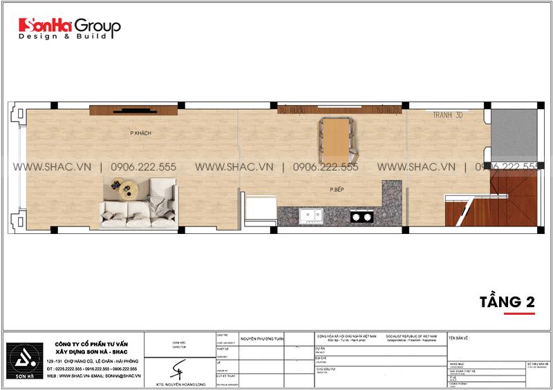 Mãn nhãn mẫu thiết kế nội thất nhà phố hiện đại 4 tầng 4x17m tại Hải Phòng 24