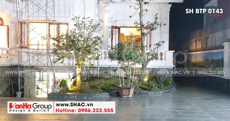 Mẫu biệt thự nhà vườn 1 tầng diện tích 22,86m x 10,16m tại Hải Phòng – SH BTP 0143 25