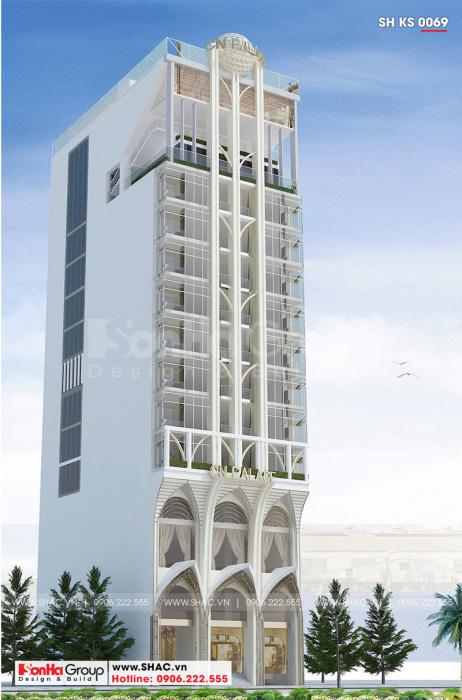 Phương án thiết kế khách sạn 4 sao tiện nghi