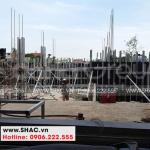 3 Ảnh thi công biệt thự mái thái kiểu tân cổ điển tại hải phòng sh btp 0143