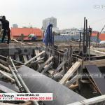 3 Ảnh thi công nhà ống cổ điển 5 tầng tại hải phòng sh nop 0198
