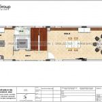 3 Bản vẽ tầng 2 nhà ống tân cổ điển mặt tiền 5,1m tại hải phòng sh nop 0197