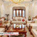 4 Ảnh thực tế nội thất phòng khách tại hải phòng sh btp 0143