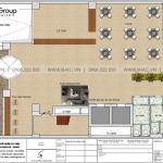 4 Bản vẽ tầng 1 khách sạn 15 tầng tại đà nẵng sh ks 0069