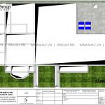 4 Bản vẽ tầng áp mái biệt thự sân vườn kiểu tân cổ điển tại vĩnh long sh btp 0145