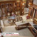 4 Cách trang trí nội thất phòng bếp biệt thự lâu đài cổ điển tại hà nội sh btld 0040