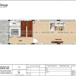 4 Mặt bằng tầng 3 nhà ống tân cổ điển kết hợp kinh doanh tại hải phòng sh nop 0197