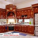 5 Ảnh thực tế nội thất phòng bếp tại hải phòng sh btp 0143