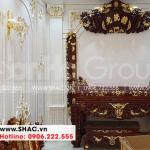 5 Ảnh thực tế nội thất phòng thờ biệt thự tân cổ điển đẹp tại hải phòng sh nop 0143