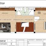 5 Bản vẽ tầng 2 nhà ống hiện đại 4 tầng tại hải phòng sh nod 0207
