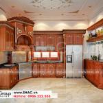 5 Bố trí nội thất phòng bếp biệt thự tân cổ điển tại vĩnh long sh btp 0145