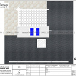 6 Bản vẽ tầng mái biệt thự tân cổ điển mặt tiền 8,6m tại hải phòng sh btp 0144