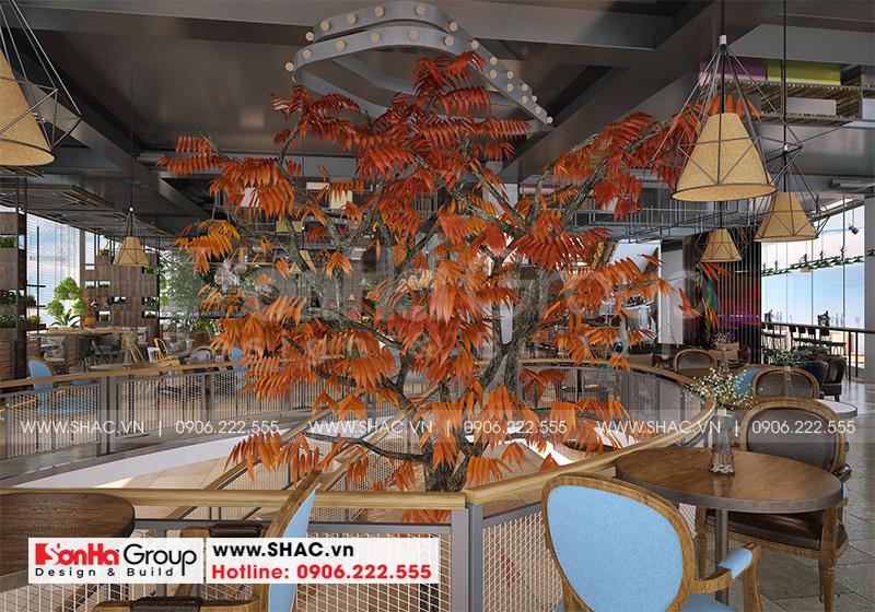 Thiết kế nhà hàng tiệc cưới hiện đại diện tích 26,2m x 45,1m tại Hải Phòng – SH BCK 0051 10