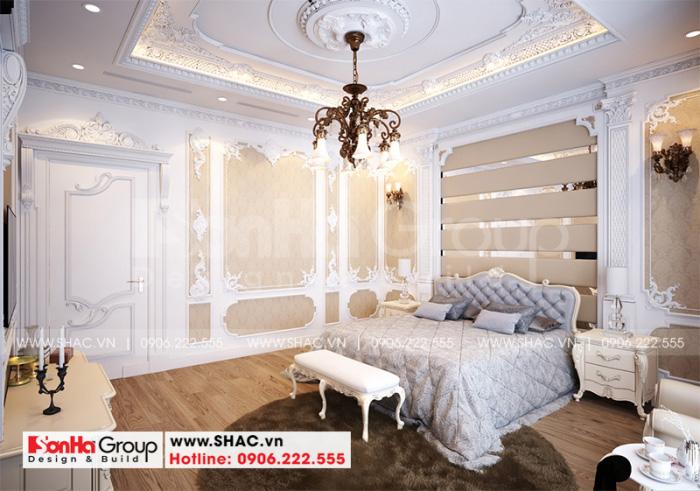 Ý tưởng thiết kế nội thất phòng ngủ master với cách trang trí tinh tế của phong cách tân cổ điển hợp thời