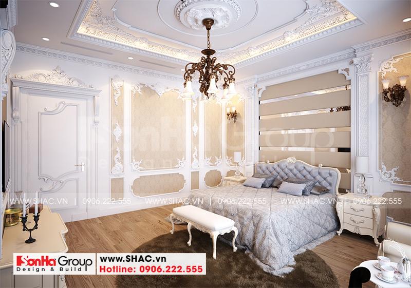 Biệt thự mái thái 1 tầng tân cổ điển diện tích 357,25m2 tại Vĩnh Long – SH BTP 0145 10