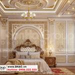 6 Thiết kế nội thất phòng ngủ tầng 1 biệt thự lâu đài đẹp tại hà nội sh btld 0040