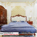 7 Ảnh thực tế nội thất phòng ngủ đẹp tại hải phòng sh btp 0143