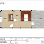 7 Bản vẽ tầng 4 nhà ống kiểu cổ điển tại hải phòng sh nop 0195