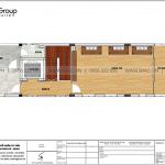 7 Bản vẽ tầng 6 nhà ống tân cổ điển mặt tiền 5,1m tại hải phòng sh nop 0197