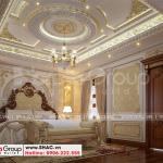 7 Mẫu nội thất phòng ngủ vip 1 biệt thự lâu đài 3 tầng tại hà nội sh btld 0040