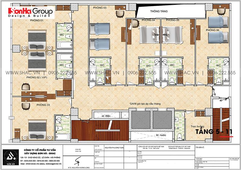 Khách sạn 4 sao CN Palace Boutique Đà Nẵng - thiết kế đẹp từng tiểu tiết 9