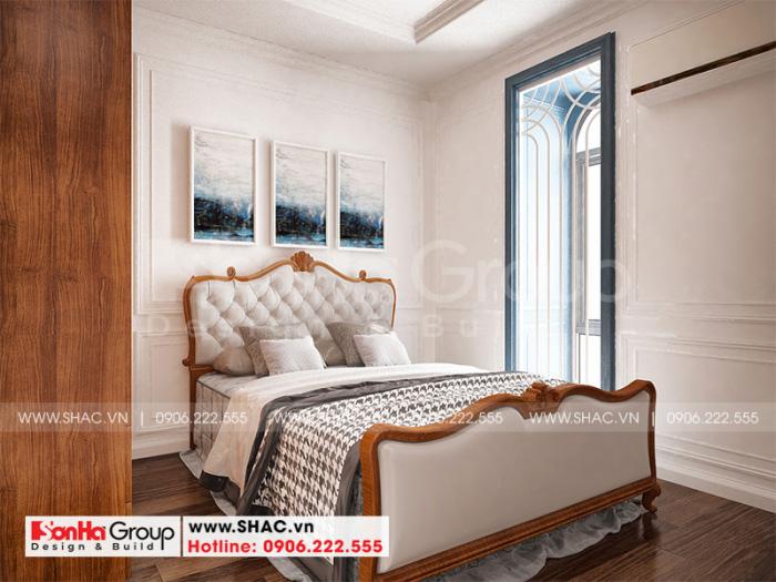 Thêm một phương án thiết kế nội thất phòng ngủ tân cổ điển tinh tế