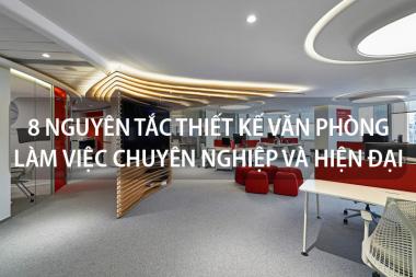8 Nguyên tắc thiết kế văn phòng làm việc chuyên nghiệp và hiện đại không nên bỏ lỡ 2