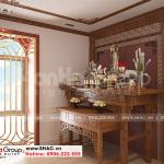 9 Cách trang trí nội thất phòng thờ nhà ống tân cổ điển tại hải phòng sh nop 0198