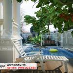9 Không gian sân vườn biệt thự tân cổ điển đẹp tại hải phòng sh btp 0143