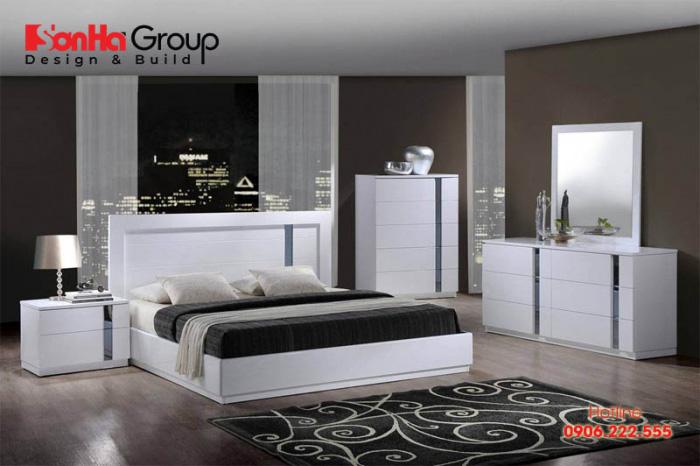 Trang trí phòng ngủ đẹp mà rẻ với nội thất hiện đại ấn tượng nhất năm 12