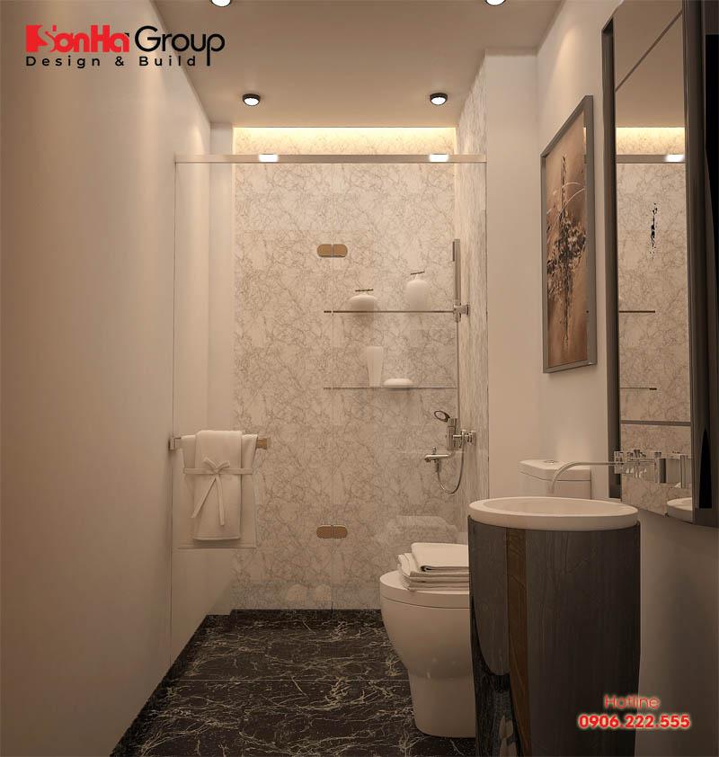 Tuyệt chiêu thiết kế phòng tắm nhỏ 3m2 rộng rãi và thoáng đãng 3