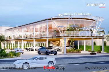 BÌA thiết kế trung tâm tiệc cưới 2 tầng kiểu hiện đại tại hải phòng sh bck 0051