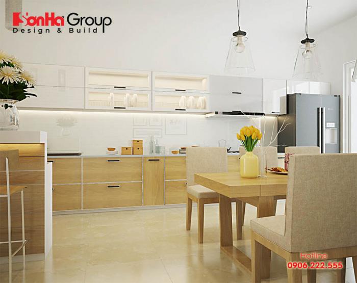 Tư vấn thiết kế nội thất phòng bếp hiện đại với tủ bếp các loại 12