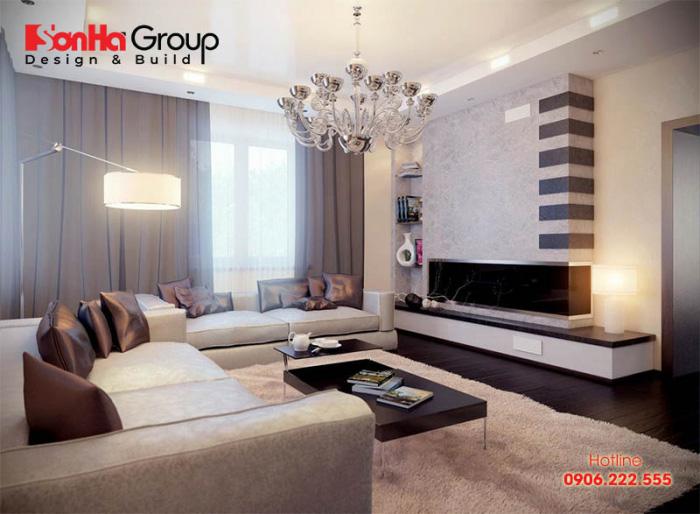 Cửa sổ phòng khách là nơi tiếp nhận những sinh khí và năng lượng tích cực