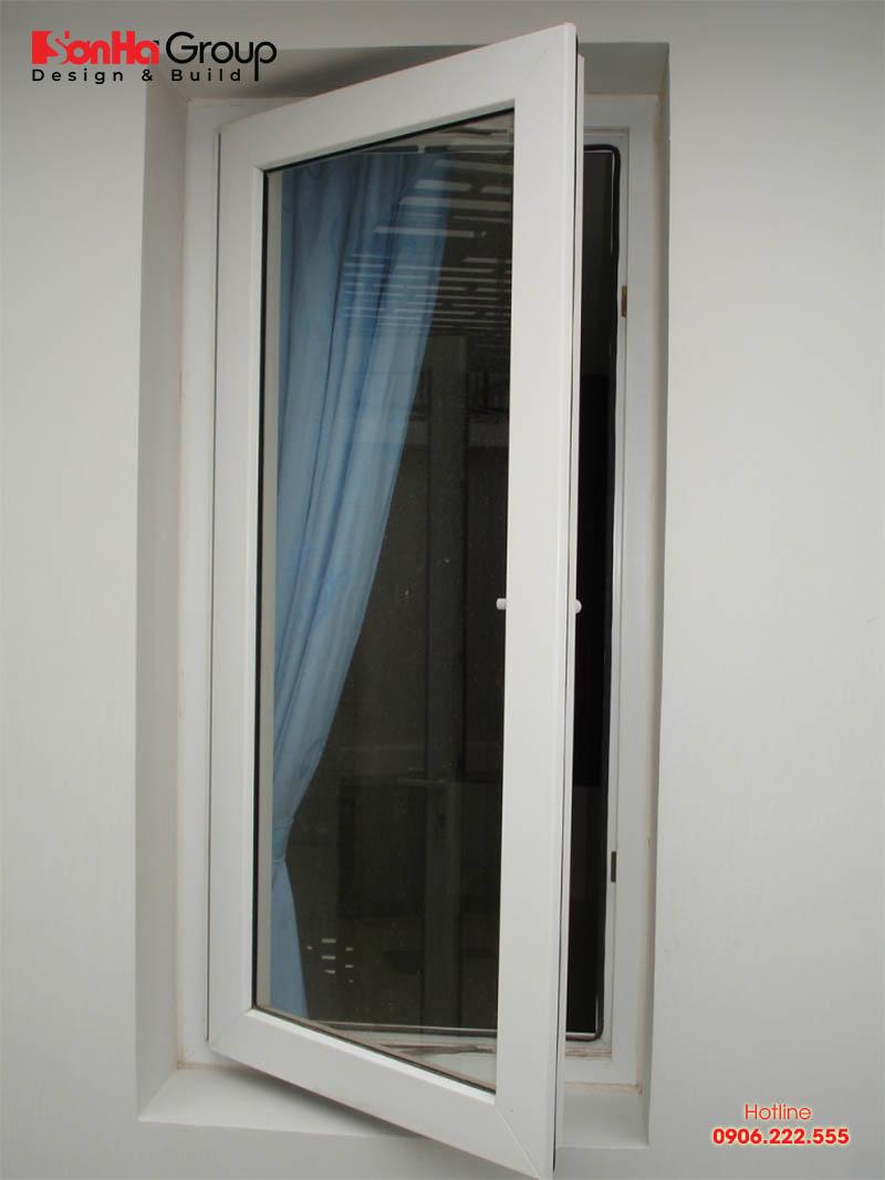 Kích thước cửa sổ chuẩn được tính dựa vào chức năng không gian