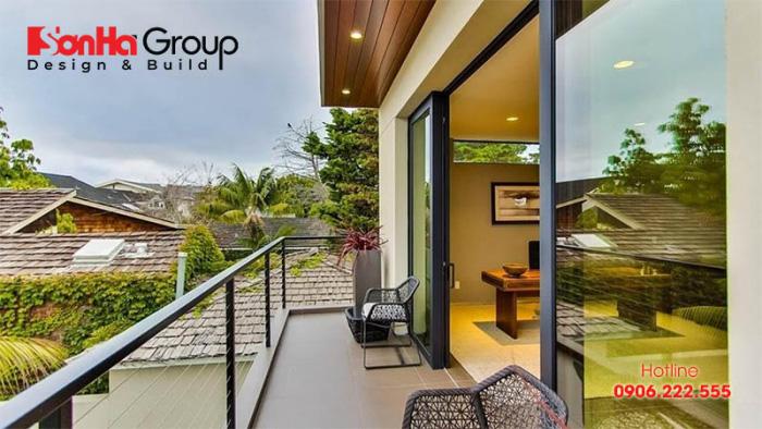 Thiết kế ban công đẹp và phong thủy để nâng cao vận khí ngôi nhà