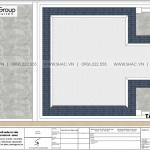 10 Mặt bằng công năng tầng mái biệt thự tân cổ điển 3 tầng tại hải phòng sh btp 0146