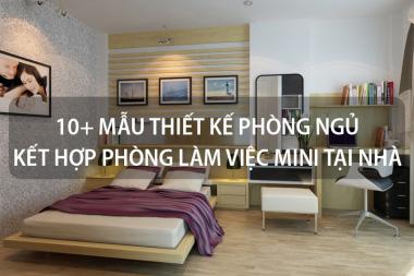 10+ Mẫu thiết kế phòng ngủ kết hợp phòng làm việc mini tại nhà 8