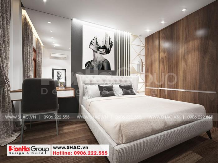 Phòng ngủ của nhà phố kiến trúc tân cổ điển pháp đẹp và tiện nghi với sở thích mà gia chủ đề ra