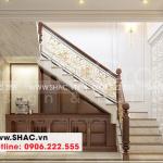 13 Thiết kế nội thất sảnh thang nhà ống tân cổ điển tại hà nội sh nop 0199