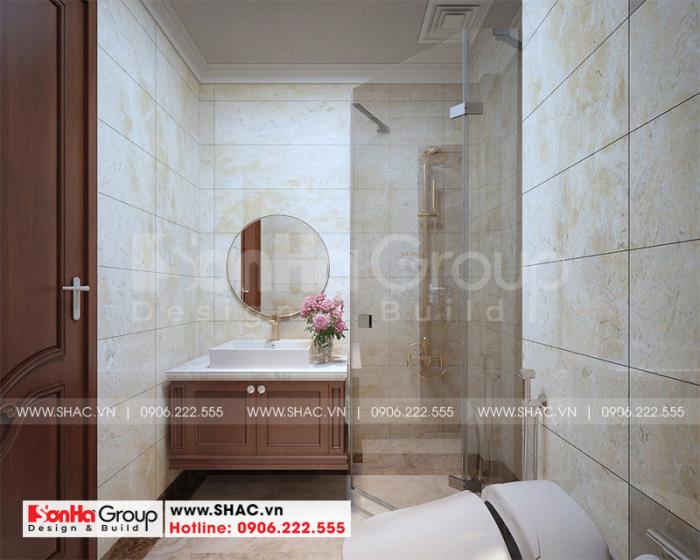 Căn phòng tắm được ưu tiên sử dụng trang thiết bị hiện đại nhất