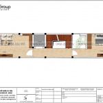 18 Mặt bằng tầng 3 nhà ống tân cổ điển 3 phòng ngủ tại hà nội sh nop 0199