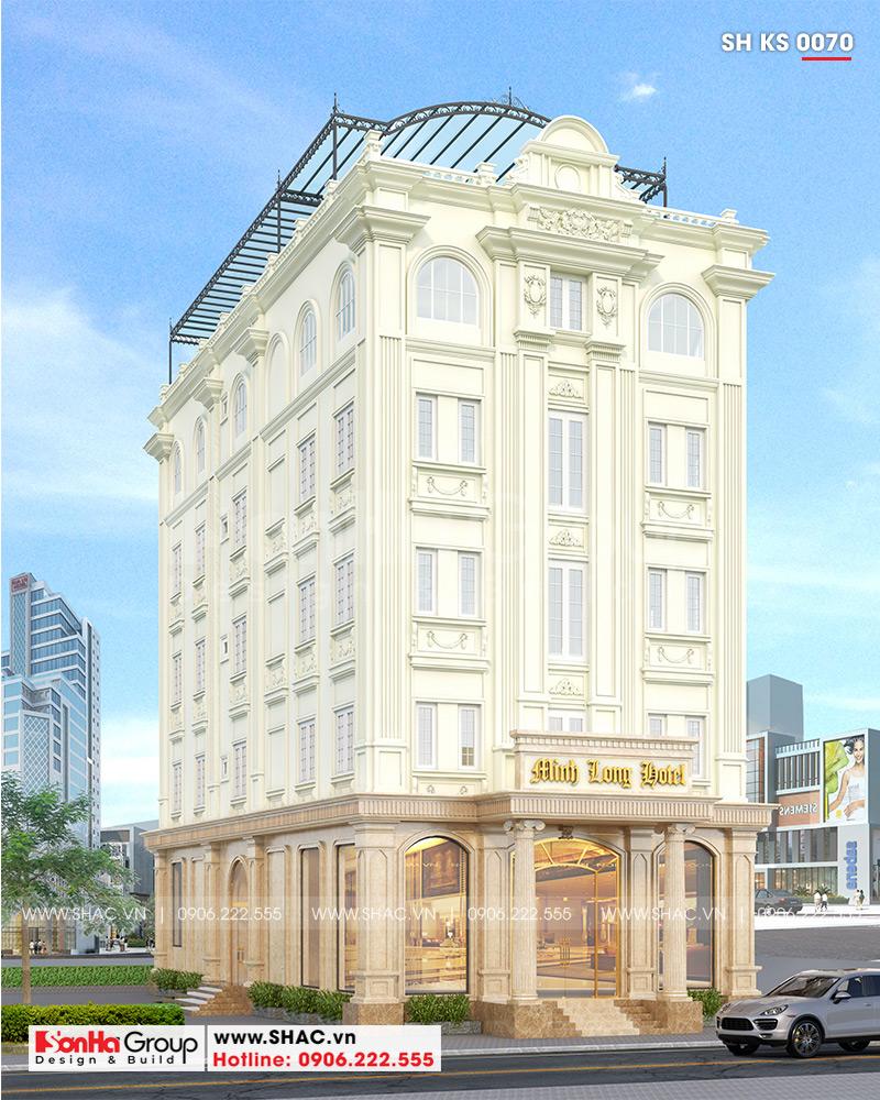 Tiêu chuẩn thiết kế khách sạn 3 sao được đảm bảo trong từng hạng mục thiết kế