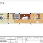 20 Mặt bằng tầng 5 nhà ống 5 tầng kiểu tân cổ điển tại hà nội sh nop 0199