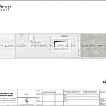 22 Mặt bằng tầng mái nhà ống tân cổ điển 3 phòng ngủ tại hà nội sh nop 0199