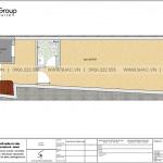 4 Bản vẽ tầng 2 nhà ống tân cổ điển mặt tiền 4m tại hải phòng sh nop 0201