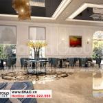 4 Cách bố trí nội thất sảnh lễ tân khách sạn 5 tầng tại hà nội sh ks 0070