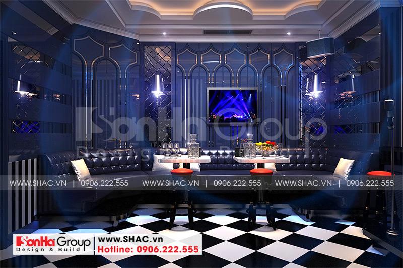 Mẫu thiết kế khách sạn tân cổ điển 5 tầng 10m x 22,5m tiêu chuẩn 3 sao tại Hà Nội – SH KS 0070 15