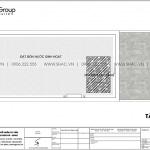 7 Bản vẽ tầng mái nhà ống hiện đại mặt tiền 3,4m tại hà nội sh nod 0209